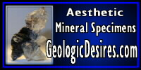 GeologicDesires.com ~ Aesthetic Mineral Specimens.